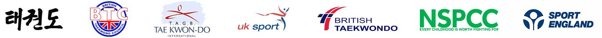taekwondo - footer logos all
